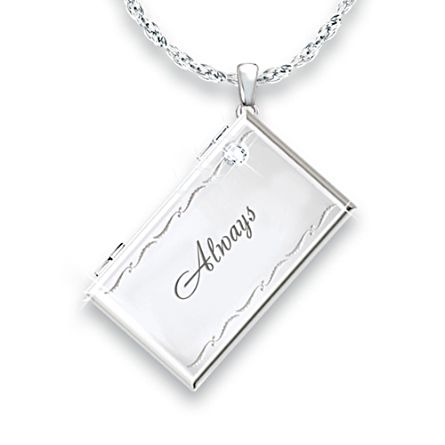 'Message From Heaven' Diamond Remembrance Pendant