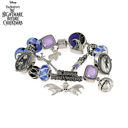 disney tim burtons the nightmare before christmas bracelet