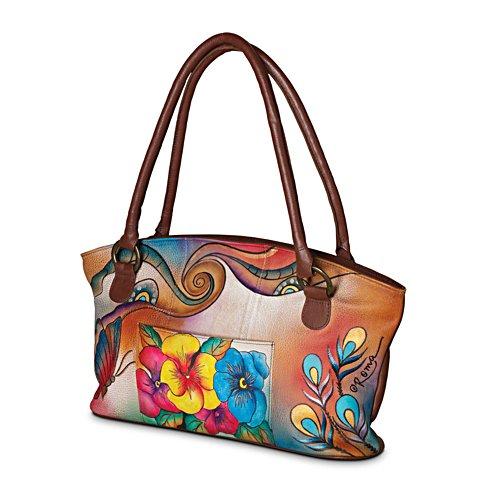 Roma Basu 'Garden Sunrise' Handbag