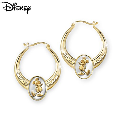 'Celebrate Mickey!' 85th Anniversary Hoop Earrings