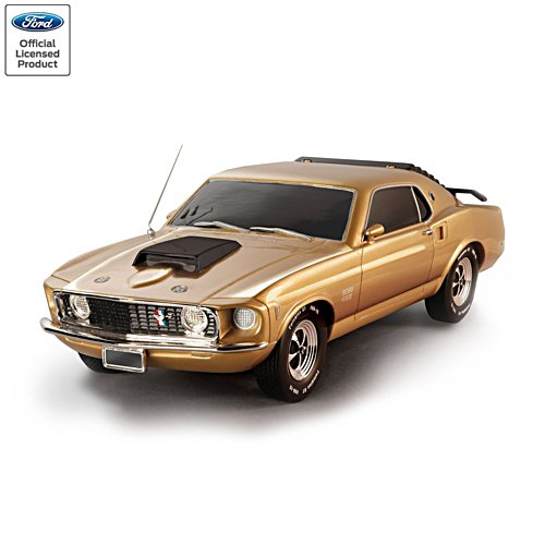 Mustang Boss 429: Mustang Fifty Years 10-Carat Gold-Plated Edition