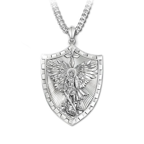 'Triumph Of St. Michael' Son Pendant
