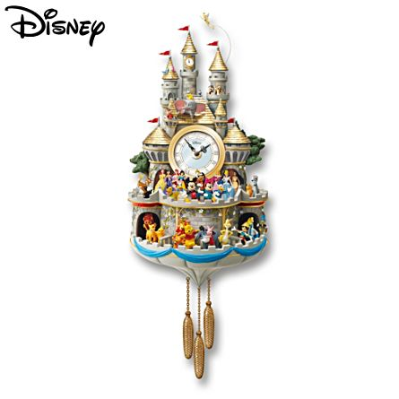 Disney 'Timeless Magic' Cuckoo Clock