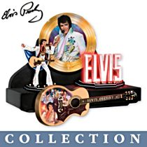 'Elvis Presley™: Showcase Of The King' Sculpture Collection