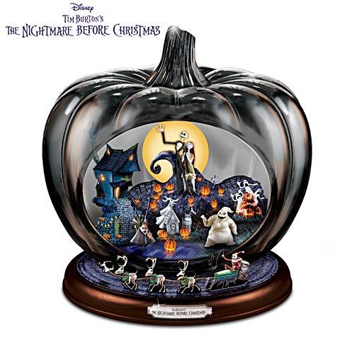 Disney 'The Nightmare Before Christmas' Pumpkin Sculpture