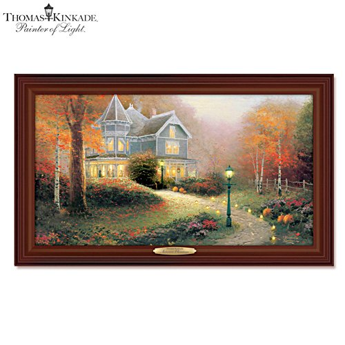 Thomas Kinkade 'Autumn Blessings' Wall Décor