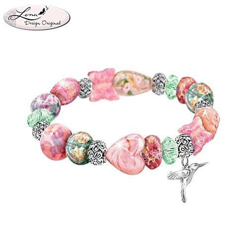Lena Liu 'Garden Of Beauty' Murano-Style Bracelet