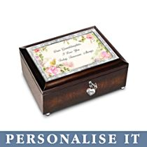 'Granddaughter, I Love You Always' Personalised Music Box