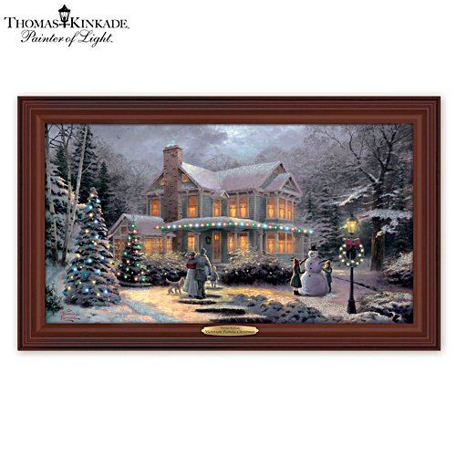 Thomas Kinkade 'Victorian Family Christmas' Wall Décor