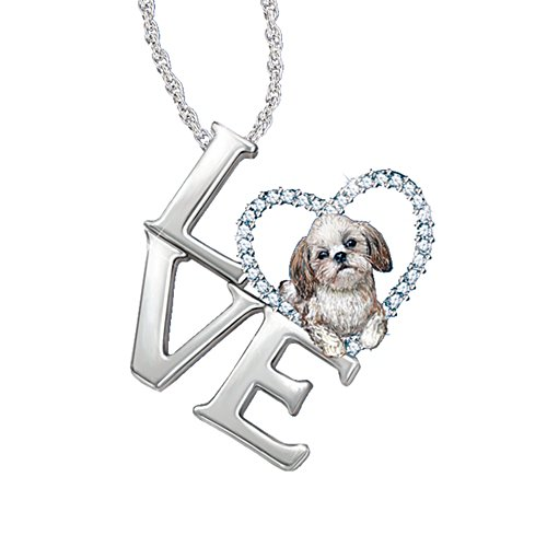 'Loving Companion' Shih Tzu Ladies' Pendant