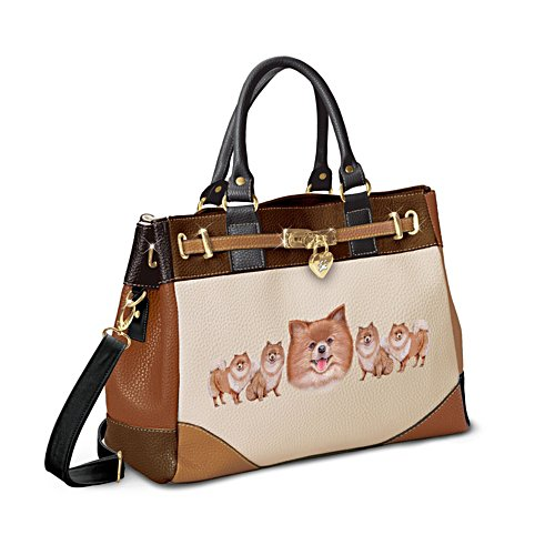 'Fashion's Best Friend' Pomeranian Handbag