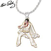 Las Vegas 'Hip Shakin' Elvis™ Signature Pendant