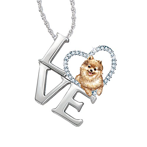 'Loving Companion' Pomeranian Ladies' Pendant