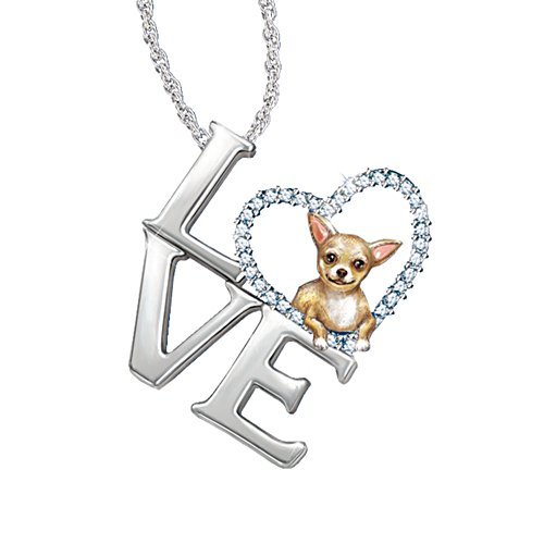 'Loving Companion' Chihuahua Ladies' Pendant