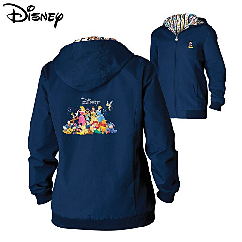 'Forever Disney' Ladies' Lightweight Hooded Jacket