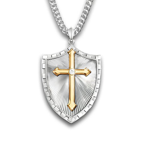 'Strength In The Lord' Diamond Pendant