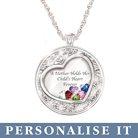 Mother birthstone pendant a mother holds her childs heart a mother holds her childs heart birthstone pendant aloadofball Images
