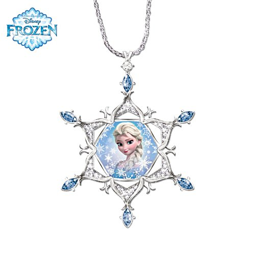Disney FROZEN 'Enchanted Snowflake' Diamond Pendant