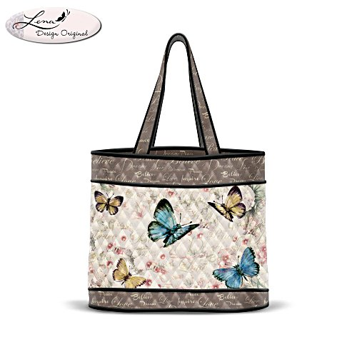 Lena Liu 'Wings Of Inspiration' Tote Bag