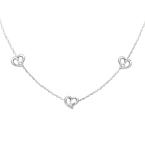 'Today, Tomorrow, Always' Daughter Diamond Necklace