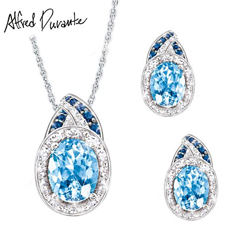 Alfred Durante 'Rapture' Pendant & Earrings Set