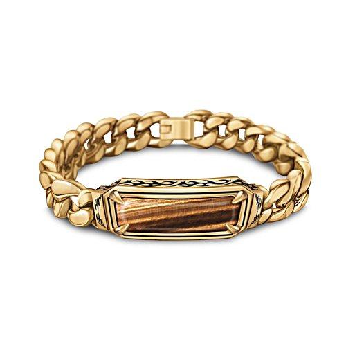 Tiger's Eye Men's Bracelet