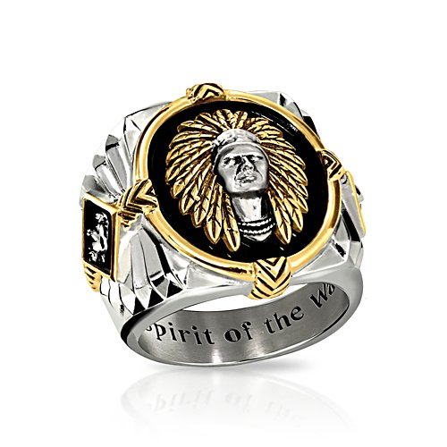 'Spirit Of The Warrior' Onyx Men's Ring