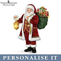 'Delivering Holiday Cheer' Personalised Storytelling Santa