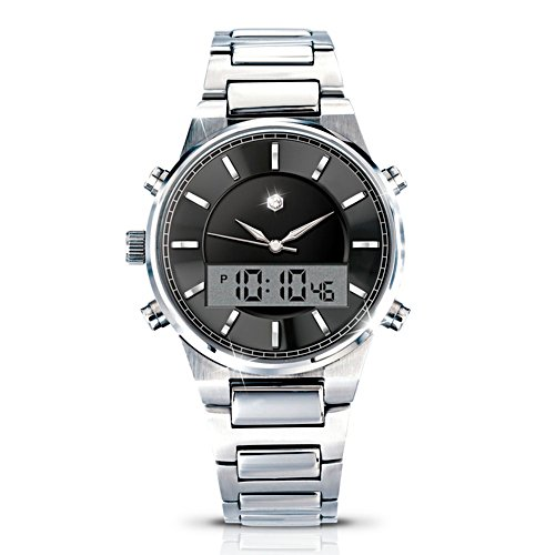 'Man Of The Hour' Diamond Men's Watch