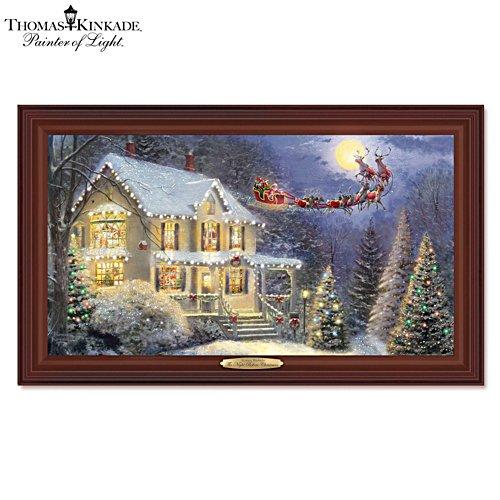 Thomas Kinkade 'The Night Before Christmas' Wall Décor