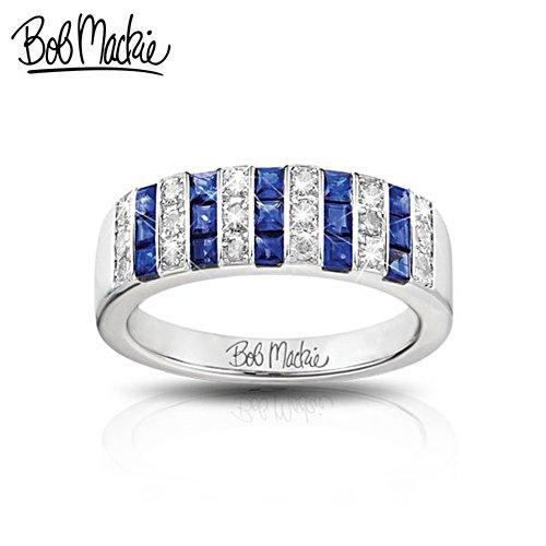 Bob Mackie 'Blue And Bold' Ladies' Ring