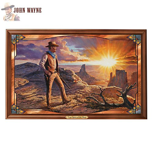 'John Wayne: True Spirit Of The West' Wall Décor