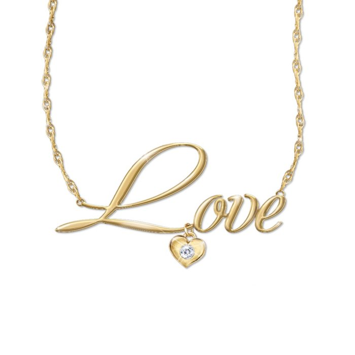 0564f18fa 'Declaration Of Love' Diamond Ladies' Necklace