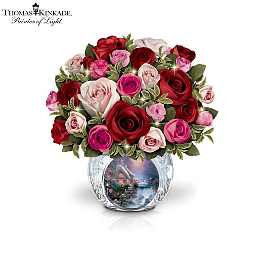 Thomas Kinkade 'Today, Tomorrow, Always' Table Centrepiece