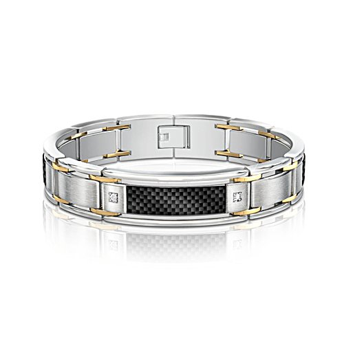 'Dressed To Thrill' Diamond Men's Bracelet