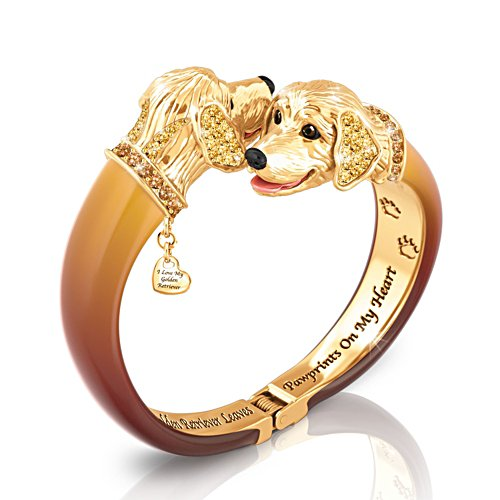 'Sophistipups' Golden Retriever Bracelet