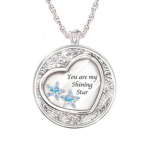 'My Shining Star' Granddaughter Pendant