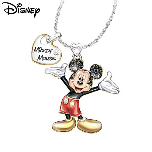 Disney Magic In Motion Ladies Pendant