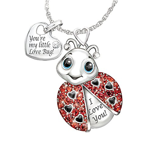 'Granddaughter, You're Cute As A Bug' Ladies' Necklace