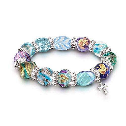 'Wonders Of Faith' Art-Glass Bracelet
