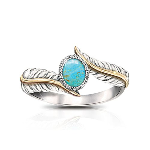 'Free Spirit' Turquoise Ladies' Ring