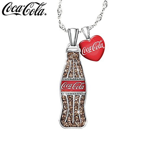 COCA-COLA® Crystal Bottle Pendant