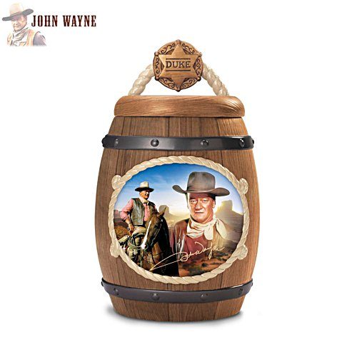 'John Wayne: One Tough Cookie' Cookie Jar