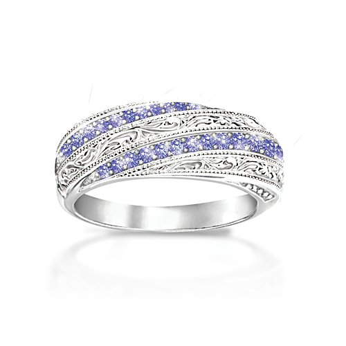 'Tanzanite Elegance' Ladies' Ring