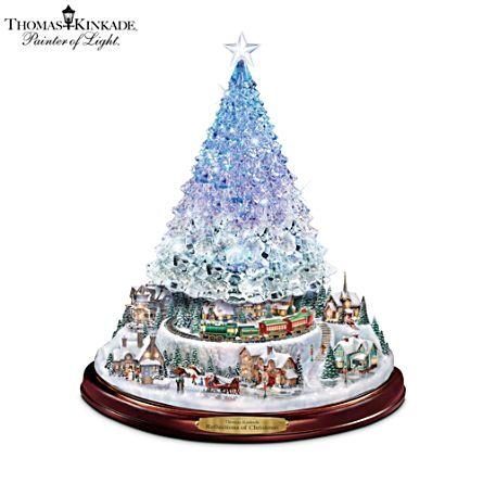 Thomas Kinkade 'Reflections Of Christmas' Tabletop Tree