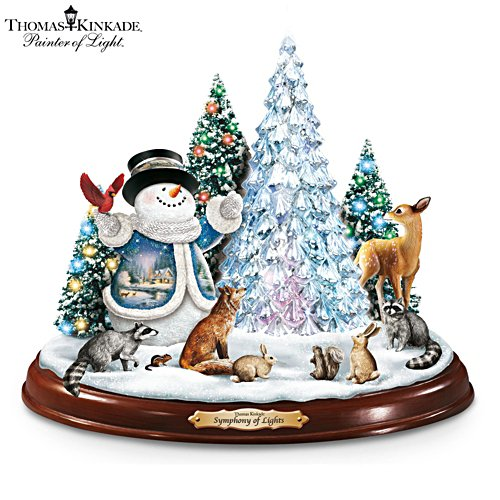 Thomas Kinkade 'Symphony Of Lights' Illuminated Sculpture