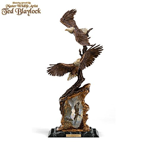 'Soaring Spirits' Eagle Sculpture