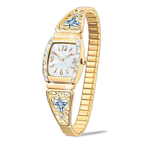 'Moments Of Faith' Ladies' Stretch Watch