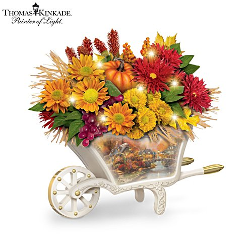 Always in Bloom® Thomas Kinkade 'Seasonal Splendour' Centrepiece