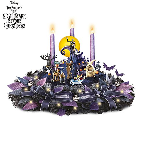 Disney Tim Burton 'The Nightmare Before Christmas' Table Centrepiece